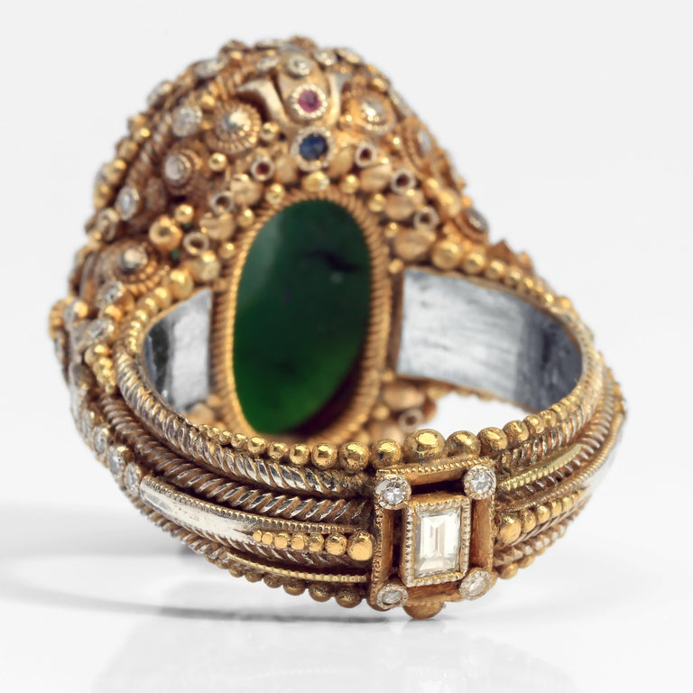 Important Elmer Seidler Ring A Masterpiece of Vision and Craftsmanship 4