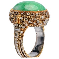 Important Elmer Seidler Ring A Masterpiece of Vision and Craftsmanship