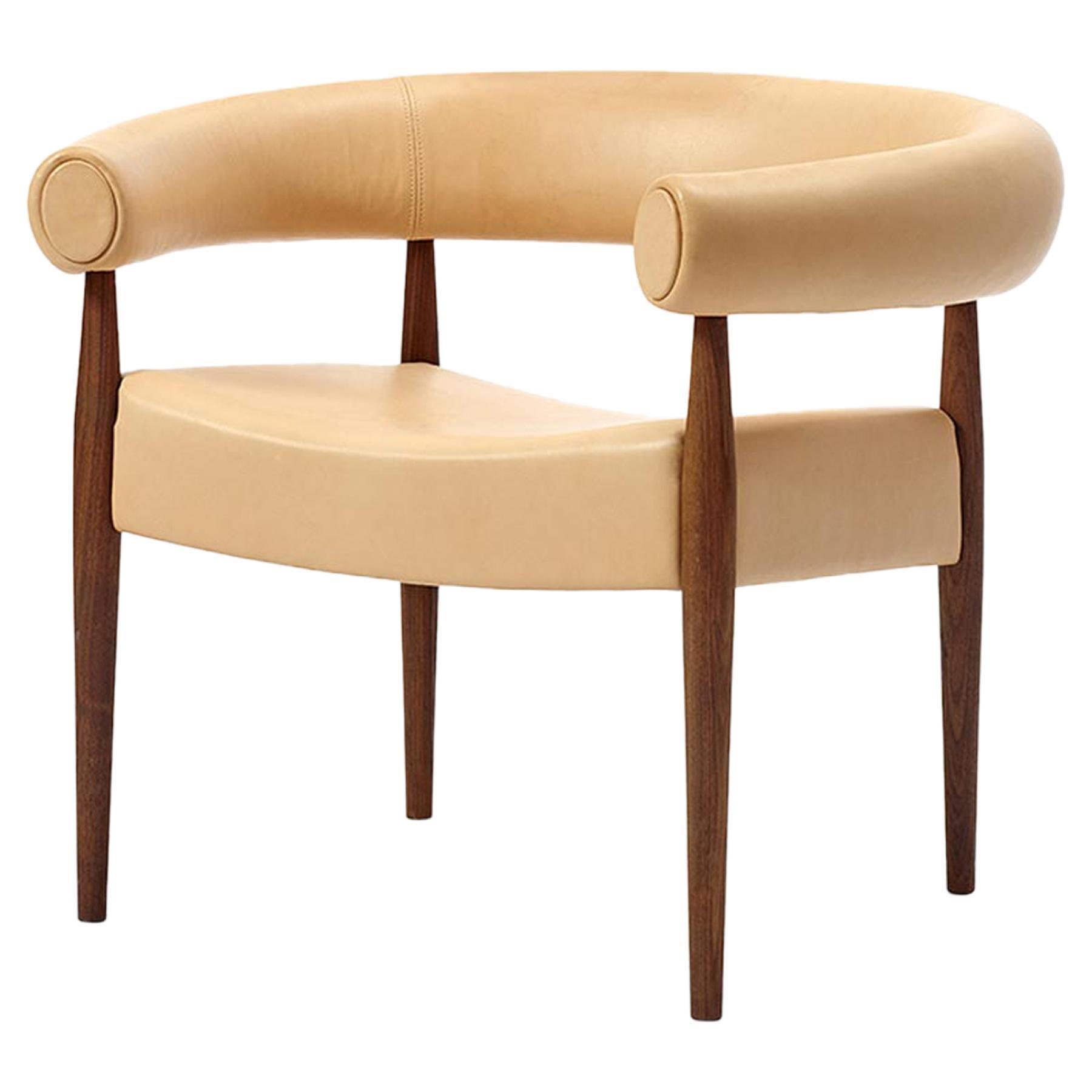 Ring Chair, Nanna & Jorgen Ditzel, Leather