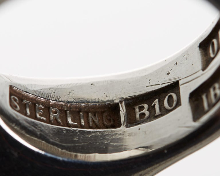Ring Designed by Ibe Dahlquist and Olov Barve, Sweden, 1977 In Good Condition For Sale In Stockholm, SE