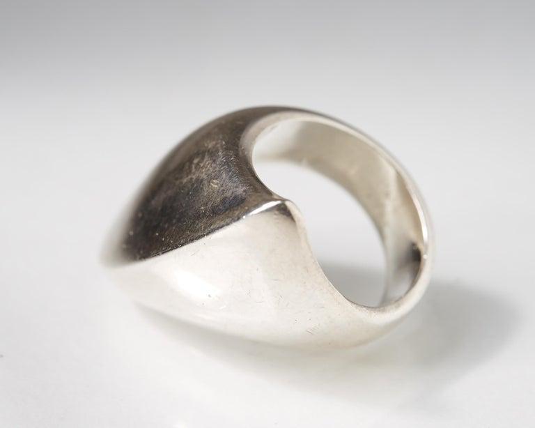 Modern Ring Designed by Nanna Ditzel for Georg Jensen, Denmark, 1960s For Sale