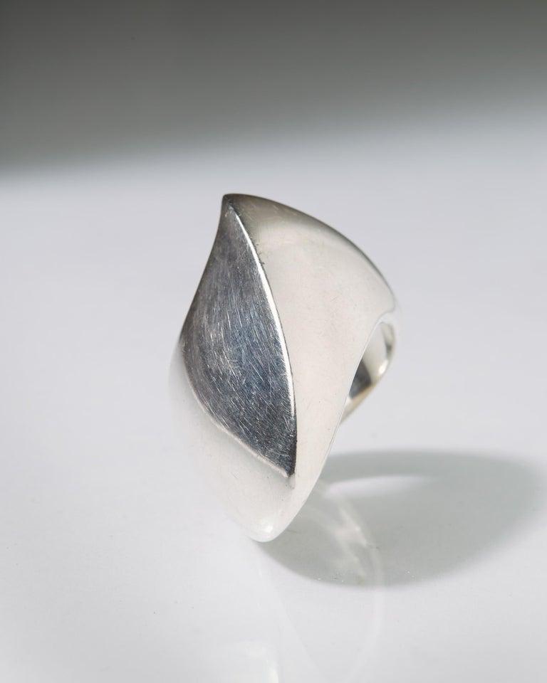 Ring Designed by Nanna Ditzel for Georg Jensen, Denmark, 1960s For Sale 1