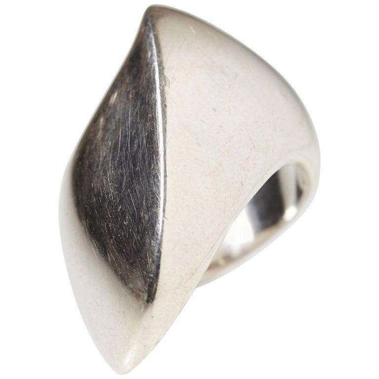 Ring Designed by Nanna Ditzel for Georg Jensen, Denmark, 1960s For Sale