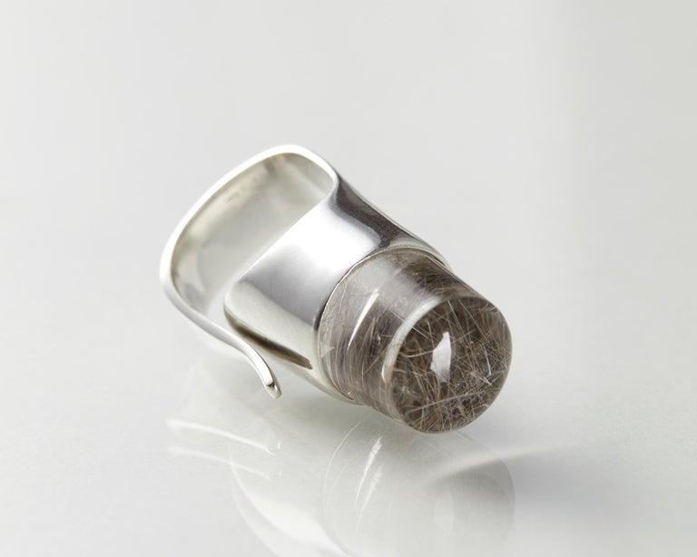 Ring Designed by Torun Bülow-Hübe for Georg Jensen, Denmark, 1960s In Good Condition For Sale In Stockholm, GB