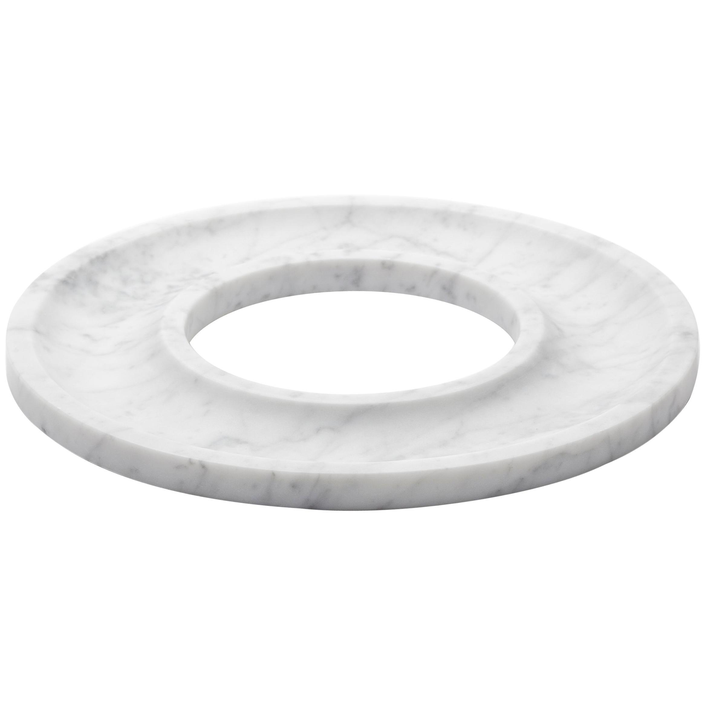 """""""Ring Tray"""" Minimalist Tray in Carrara Marble"""