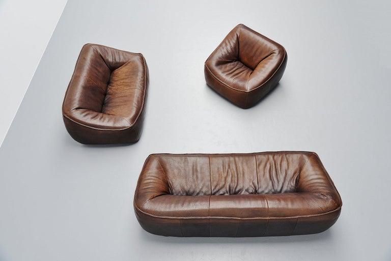 Dutch Ringo Sofa Set by Gerard Van Den Berg for Montis, 1970 For Sale