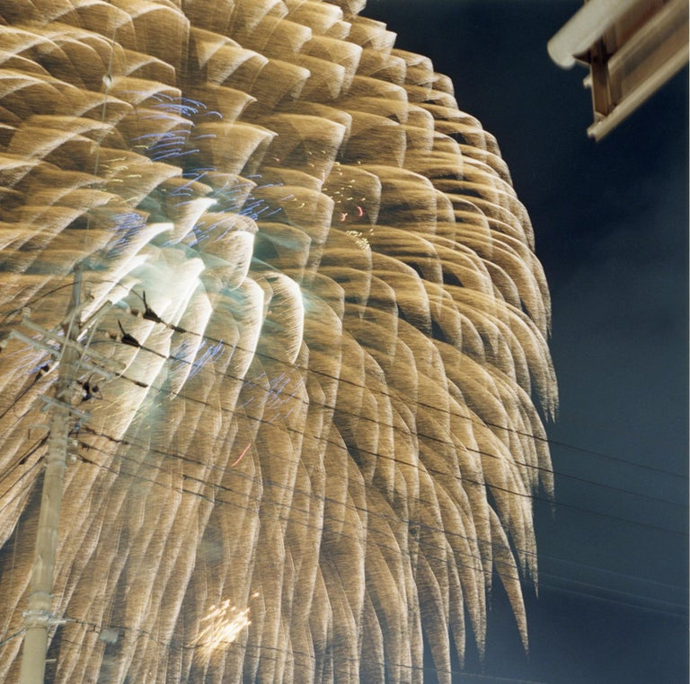 Untitled, from the series of 'Hanabi' – Rinko Kawauchi, Sky, Firework, Night - Contemporary Photograph by Rinko Kawauchi