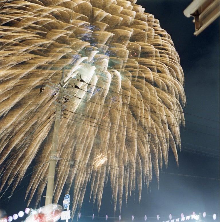 Untitled, from the series of 'Hanabi' – Rinko Kawauchi, Sky, Firework, Night - Photograph by Rinko Kawauchi