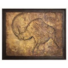 Rinoceronte Painting by Lola Vitelli