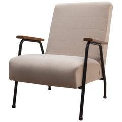 """Rio"" Armchair Designed by Pierre Guariche for Meurop, Belgium, 1950s"