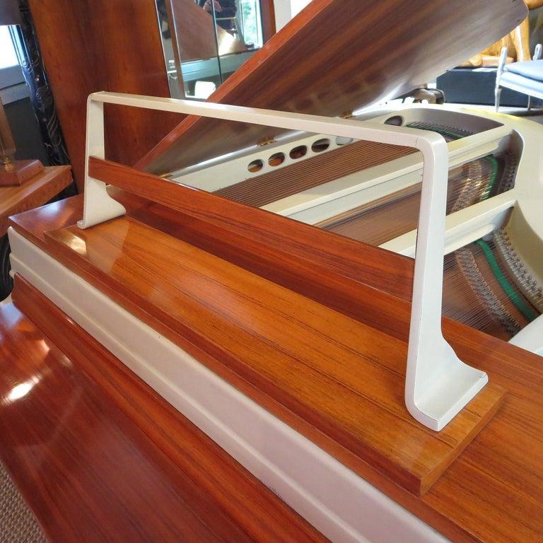 Rippen Aluminum Grand Piano - Midcentury Design For Sale 1