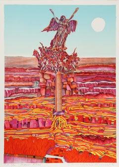 Buenos Aires, 1973 Silkscreen by Risaburo Kimura
