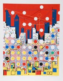 City 369, Silkscreen by Kimura