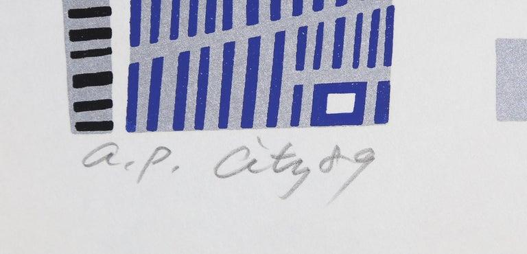 City 89, Serigraph by Risaburo Kimura  For Sale 1