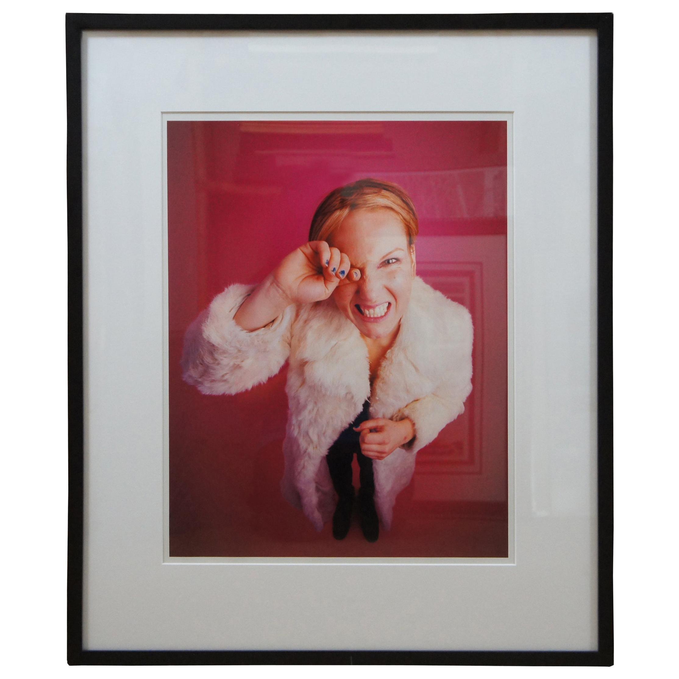 Rita Ackermann by Michael Lavine 1996 C-Print Chromogenic Portrait Photograph
