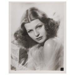 Rita Hayworth Portrait Photo