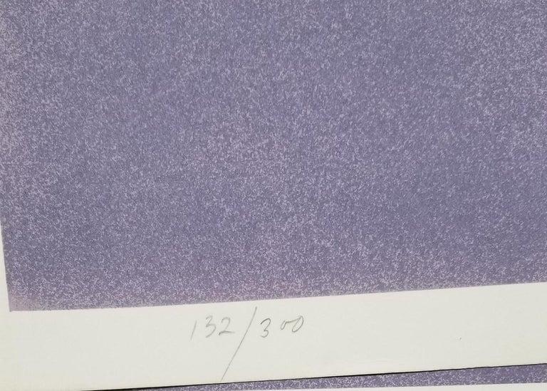 American Rita Simon Untitled 7 Screen Print Limited Edition 132/300, 1979 For Sale
