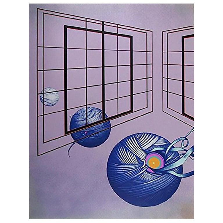 Rita Simon Untitled 7 Screen Print Limited Edition 132/300, 1979 For Sale