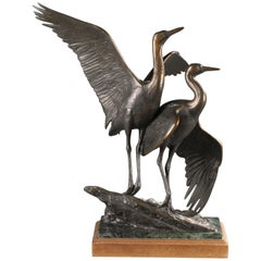 """Rites of Spring"" Bronze Sculpture by Kent Ullberg"