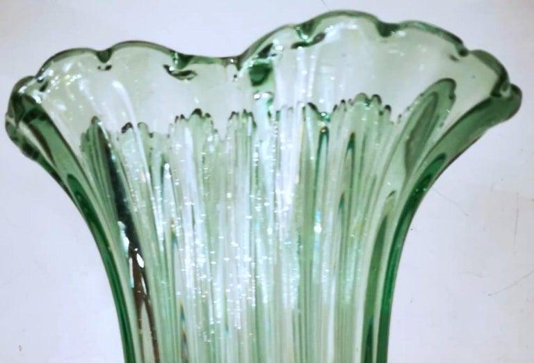 Ritorto A Coste Vase, by Archimede Seguso, Murano, 1950s 1