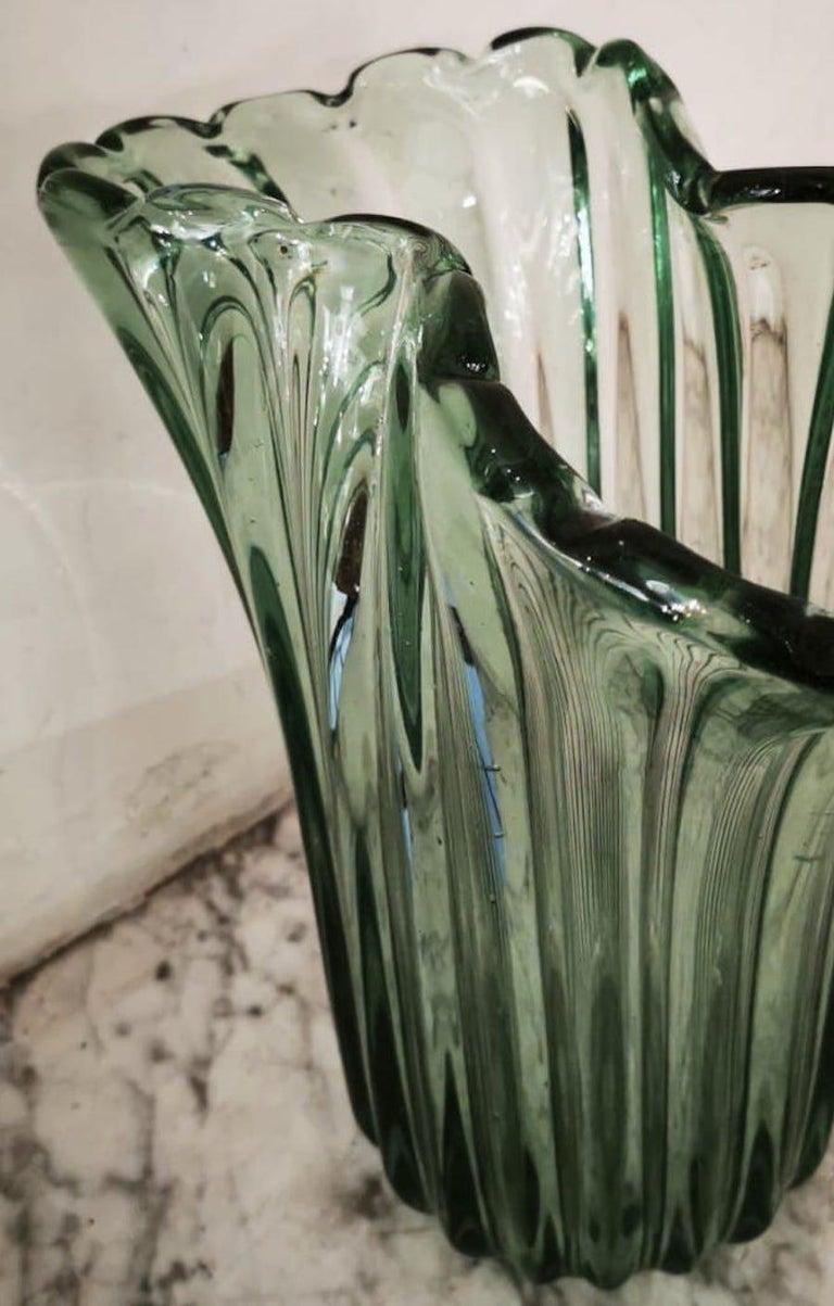 Ritorto A Coste Vase, by Archimede Seguso, Murano, 1950s 5