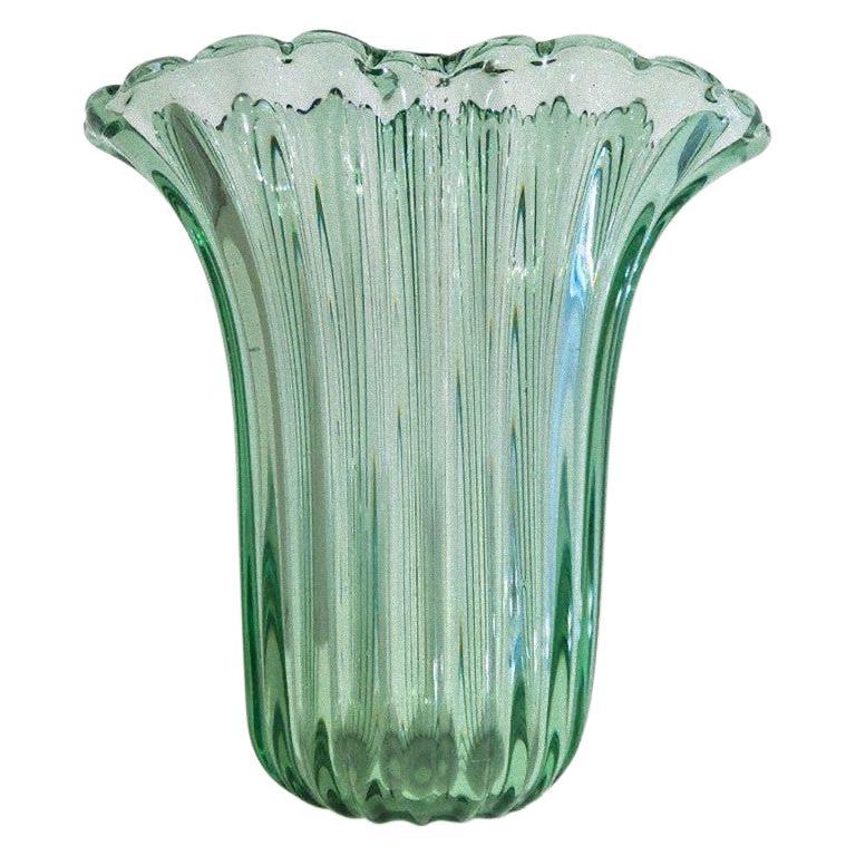 Ritorto A Coste Vase, by Archimede Seguso, Murano, 1950s