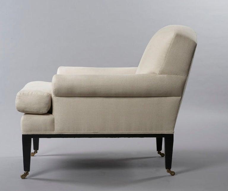 American Rive Gauche Armchair, by Bourgeois Boheme Atelier For Sale