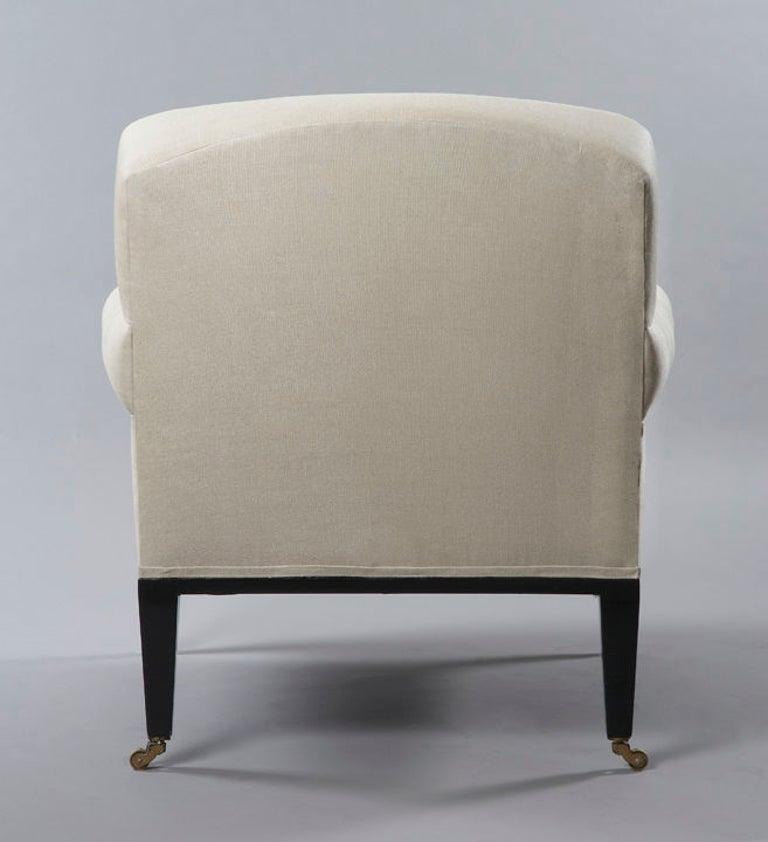 Contemporary Rive Gauche Armchair, by Bourgeois Boheme Atelier For Sale