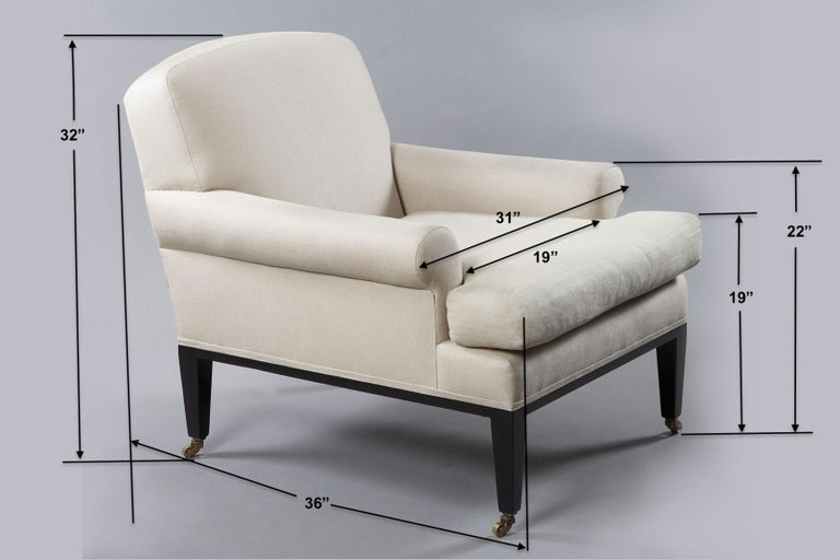 Upholstery Rive Gauche Armchair, by Bourgeois Boheme Atelier For Sale