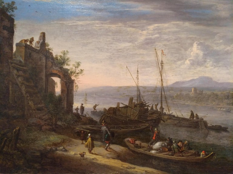 Herman Saftleven( Rotterdam 1609-Utrecht 1685)