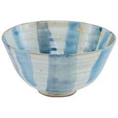 Rivers Bowl in Blue Ceramic by CuratedKravet