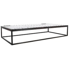 Riveted Iron Coffee Table