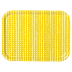 Rivi Tray in Mustard and White by the Bouroullec Brothers & Artek