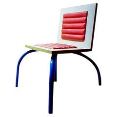 Riviera Chair in Plastic Laminate Memphis Milano Collection