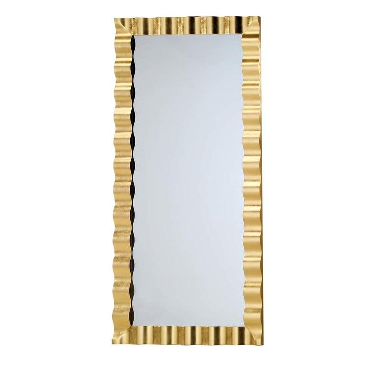 Italian Riviera Wide Wall Mirror For Sale