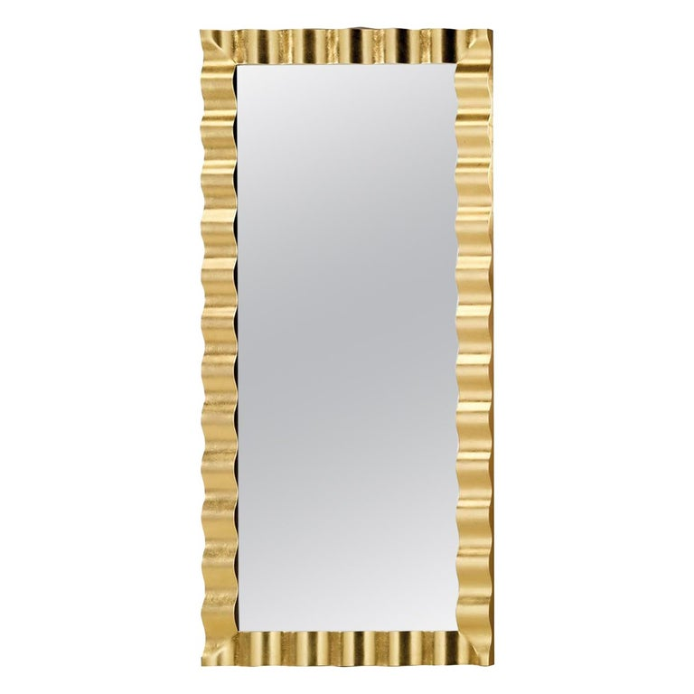 Riviera Wide Wall Mirror For Sale