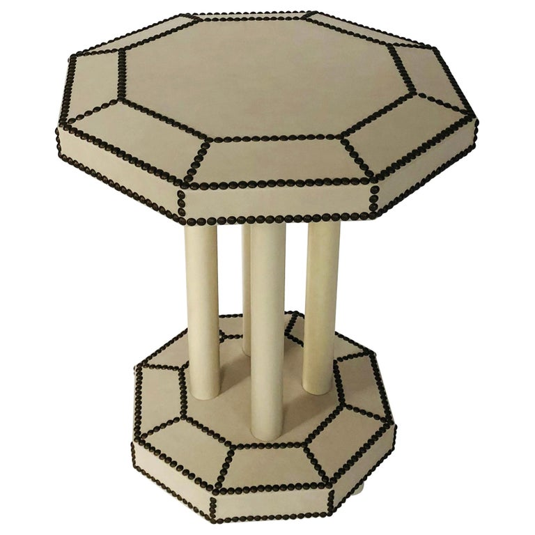 """Rivoli"" Side Table by Bourgeois Boheme Atelier For Sale"