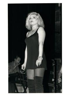 Debbie Harry (Blondie) on Stage Vintage Original Photograph