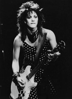 Joan Jett with Guitar Vintage Original Photograph
