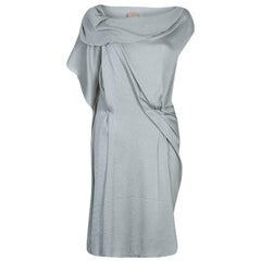 RM By Roland Mouret Grey Textured Dress S