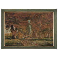 """""""Road between trees"""" Painting"""