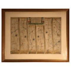 Road Map, John Ogilby, London, Barwick, York, Chester, Darlington, Durham