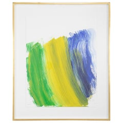 """Road To Rio"", a 22 Color Silkscreen by Howard Hodgkin"