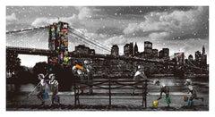 Roamcouch - Brooklyn Bridge - Urban Graffiti Street Art