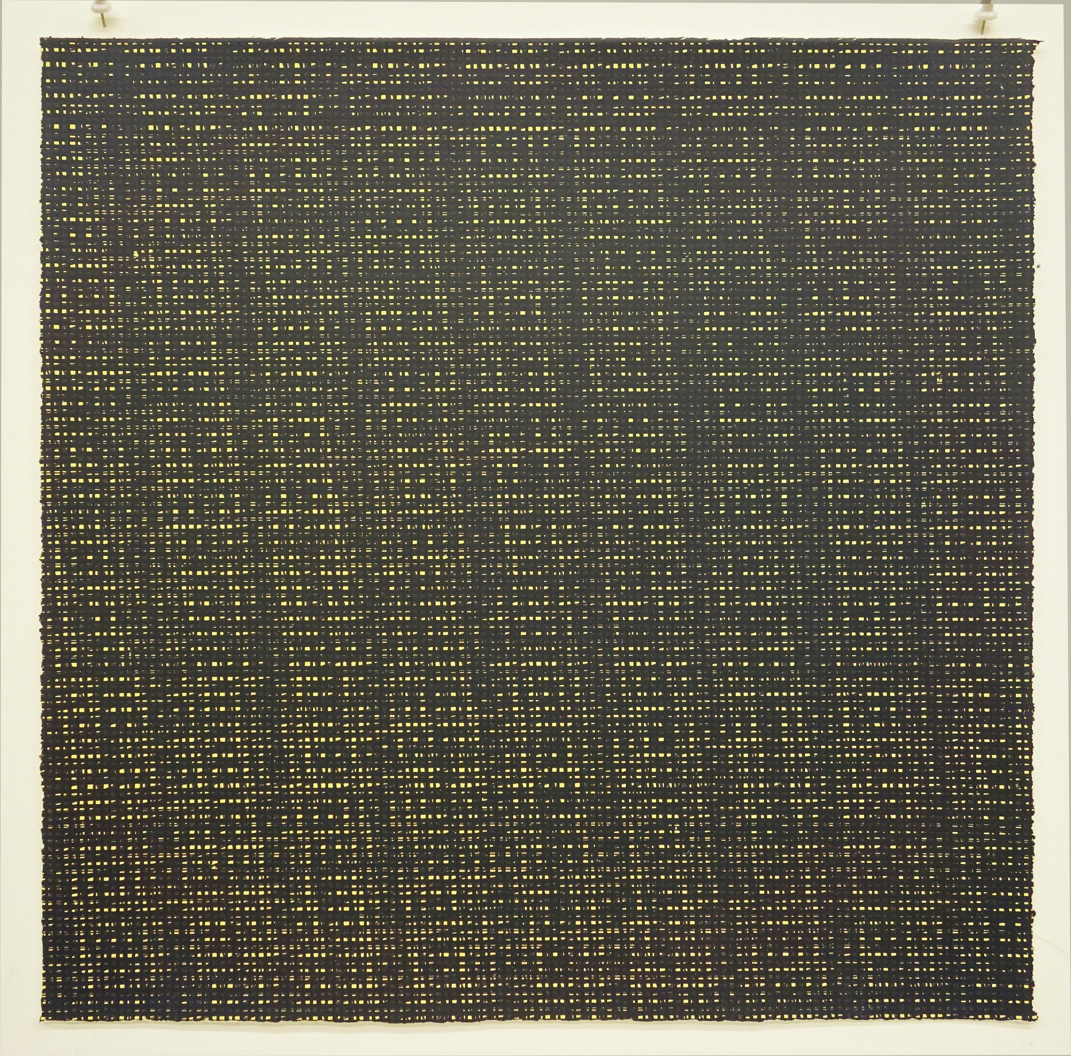 Rob de Oude, Untitled-Wassaic 1, 2016, silkscreen, 18 x 18 inches, Suite of 10