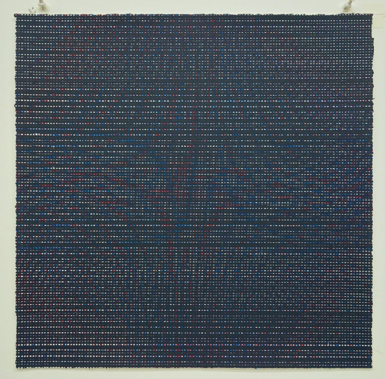 Rob de Oude, Untitled-Wassaic 7, 2016, silkscreen, 18 x 18 inches, Suite of 10 For Sale 3
