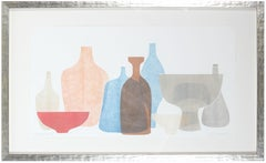 """""""Chromatic Vessels V"""" Abstracted Still Life"""
