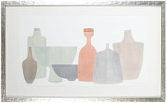 """""""Chromatic Vessels VI"""" Abstracted Still Life"""
