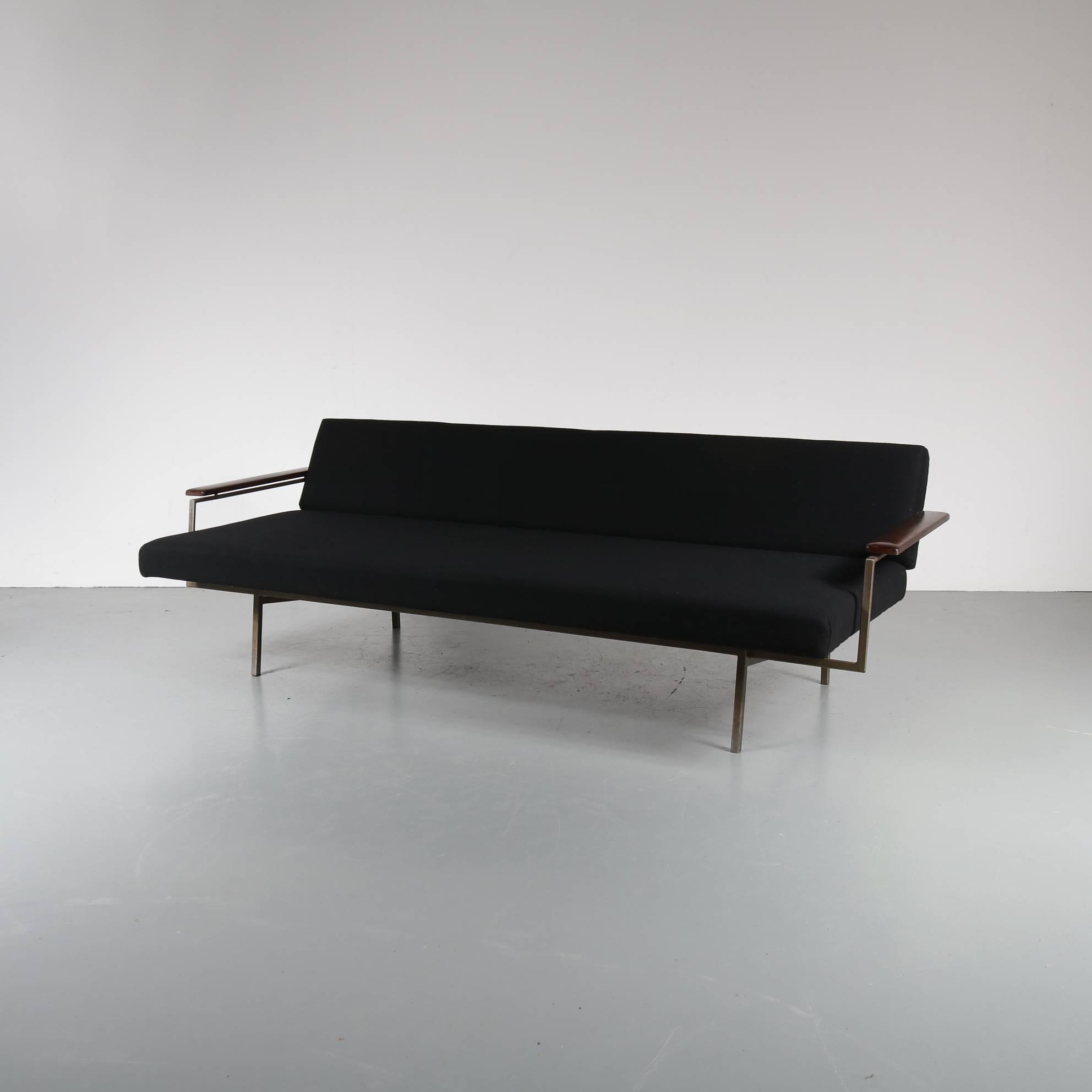 Bon Mid Century Modern Rob Parry Sleeping Sofa For Gelderland, Netherlands 1960  For Sale
