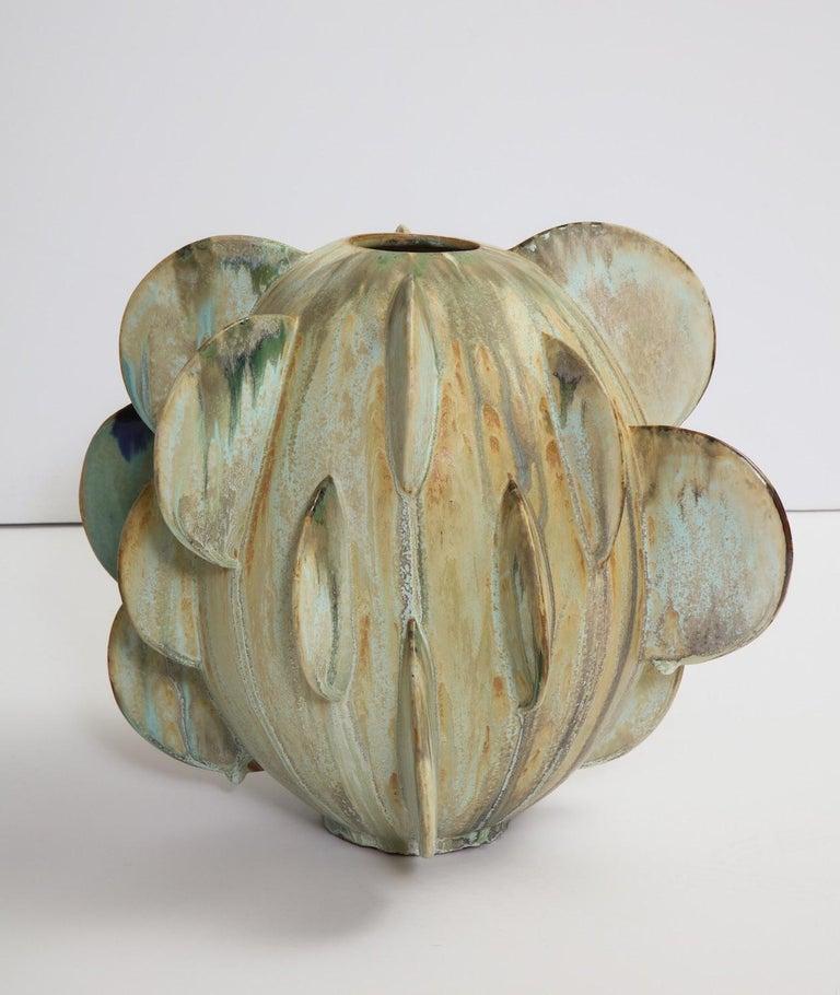Mid-Century Modern Robbie Heidinger Untitled Orb Vase #1